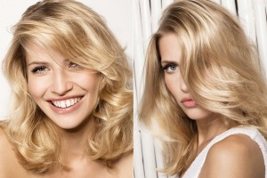 Hair Style , 6 Wonderful Hair Styling Ideas For Medium Length Hair : Blonde Color of Medium Length Haircuts
