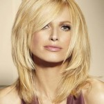 Choppy Medium Side Bangs , 9 Best Medium Length Layered Hair Styles In Hair Style Category