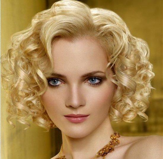 Hair Style , 9 Wonderful Curly Styles For Medium Length Hair : Curly Hairstyles Medium Length