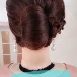 Elegant hairstyle bridal , 8 Beautiful Bridesmaid Hairstyles For Short Hair In Hair Style Category