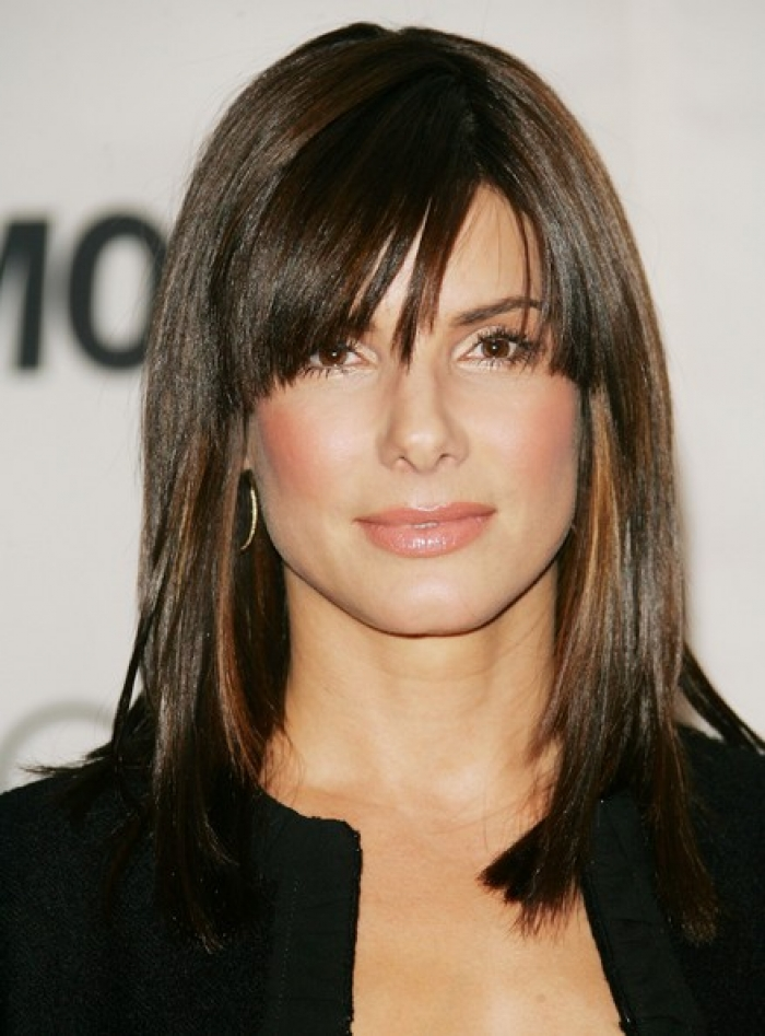 Popular medium length hairstyles with bangs 2013 8 cute medium large 700 x 947 urmus Gallery