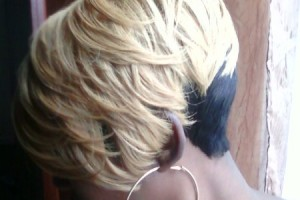 Hair Style , 6 Cool Quick Weave Short Hairstyles : Shondra's quick weave hairstyles blonde layeres