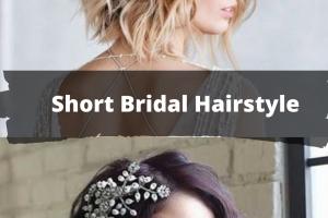 Hair Style , 8 Beautiful Bridesmaid Hairstyles For Short Hair : Short Bridal Hairstyle