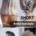 Short Bridal hair , 8 Beautiful Bridesmaid Hairstyles For Short Hair In Hair Style Category