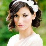 Short Wavy Curly Wedding Hairstyles , 8 Beautiful Bridesmaid Hairstyles For Short Hair In Hair Style Category