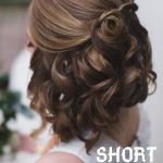 Short bridal hairstyle ideas , 8 Beautiful Bridesmaid Hairstyles For Short Hair In Hair Style Category
