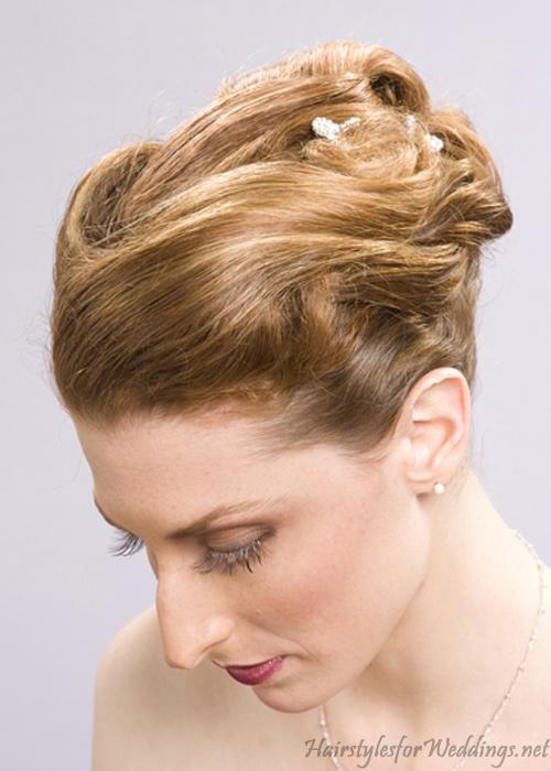 Sensational Updo Hairstyles 9 Nice Updo Styles For Medium Length Hair Short Hairstyles Gunalazisus