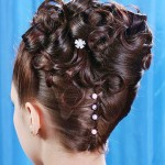 Updo Wedding Hairstyles For Medium Hair , 8 Nice Wedding Hair Styles For Medium Length Hair In Hair Style Category