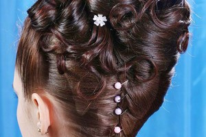 Hair Style , 8 Nice Wedding Hair Styles For Medium Length Hair : Updo Wedding Hairstyles for Medium Hair