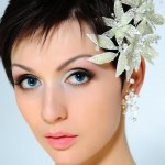 Wedding Hairstyles , 8 Beautiful Bridesmaid Hairstyles For Short Hair In Hair Style Category