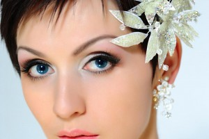 1030x1001px 8 Beautiful Bridesmaid Hairstyles For Short Hair Picture in Hair Style