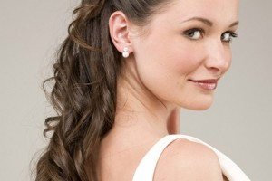 Hair Style , 8 Charming Medium Hair Length Styles 2012 : Wedding Hairstyles for Long hair