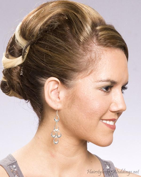 Wedding Updo Hairstyles For Medium Length Hair : 8 Nice Wedding Hair ...