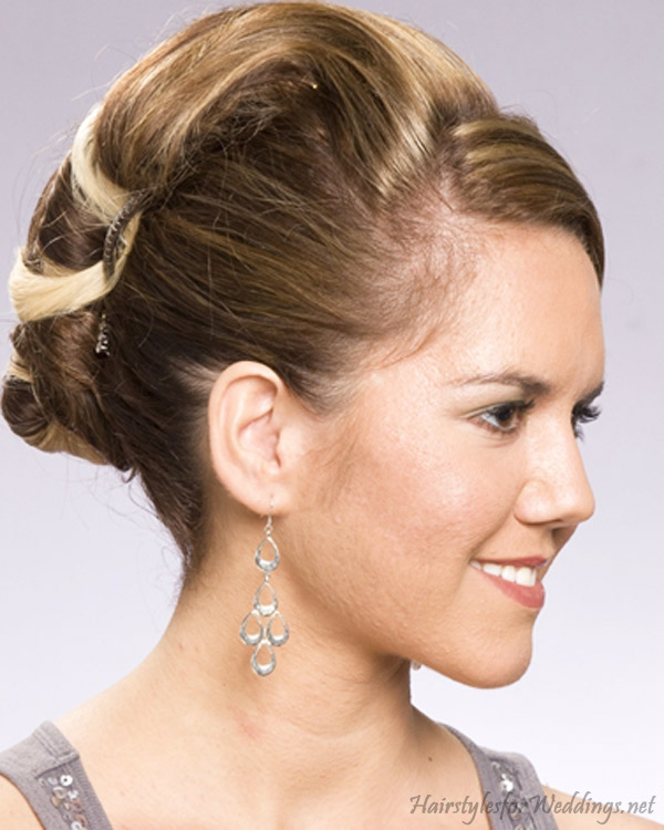 Wedding Updo Hairstyles 9 Nice Updo Styles For Medium Length Hair