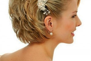 Hair Style , 8 Beautiful Bridesmaid Hairstyles For Short Hair : Wedding hairstyles for women