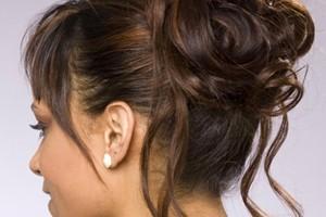 Hair Style , 8 Nice Wedding Hair Styles For Medium Length Hair : Wedding updos hairstyles for medium length hair