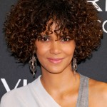 celebrity inspired natural hairstyles , 10 Cute Natural Styles For Medium Length Hair In Hair Style Category
