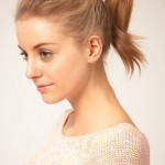 cute ponytail hairstyles , 8 Cute Ponytail Styles For Medium Hair In Hair Style Category