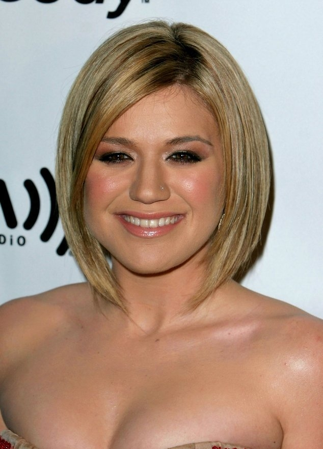 Long Bob Best Hairstyles : 9 Cute Short Hairstyles For Fat Faces ...