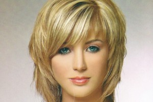 Hair Style , 8 Cute Medium Length Hair Styles With Bangs : medium haircuts hairstyles