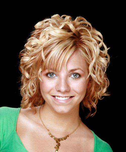 Hair Style , 9 Wonderful Curly Styles For Medium Length Hair : Medium Length Curly Haircuts