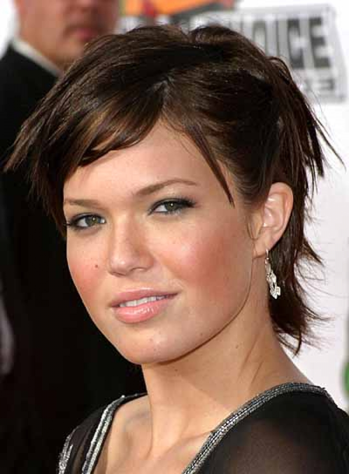Hair Style , 9 Cute Short Hairstyles For Fat Faces : Short Hairstyles For Round Faces