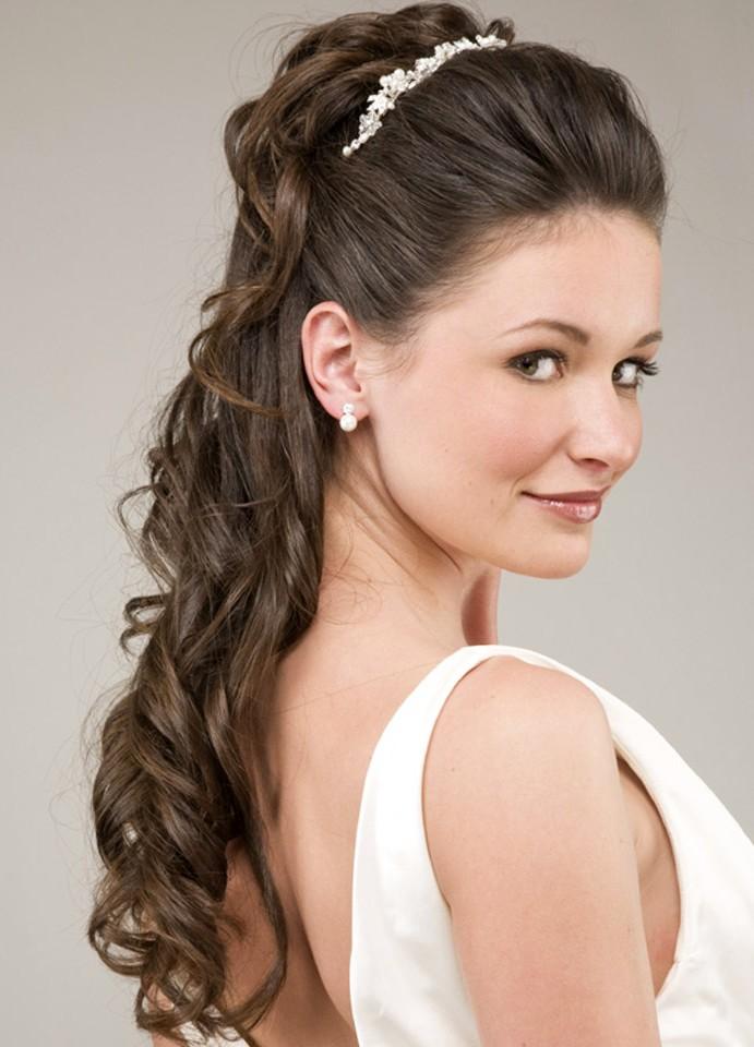 8 Nice Wedding Hair Styles For Medium Length Hair in Hair Style