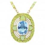 Aquamarine Necklace , 8 Charming Tiffany Aquamarine Necklace In Jewelry Category