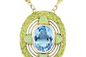 Jewelry , 8 Charming Tiffany Aquamarine Necklace : Aquamarine Necklace
