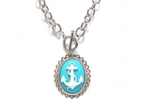 736x565px 8 Charming Anchor Necklace Tiffany Picture in Jewelry