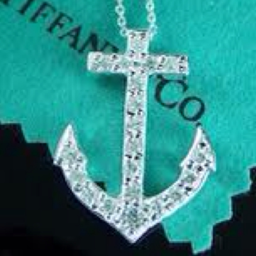 Jewelry , 8 Charming Anchor Necklace Tiffany : Cute Anchor Necklace
