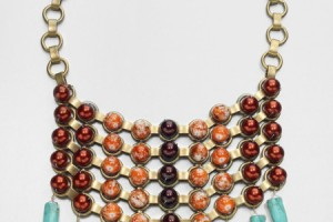 Jewelry , 8 Awesome Dannijo Bib Necklace : Dannijo Beaded Bib Necklace