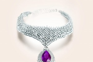 640x735px 8 Gorgeous Tanishq Diamond Necklace Picture in Fashion