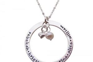 Jewelry , 8 Cool Charm Necklaces For Moms : Infinity Necklace