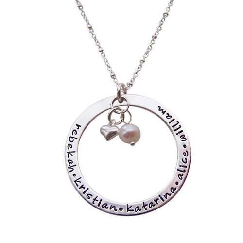 8 Cool Charm Necklaces For Moms in Jewelry
