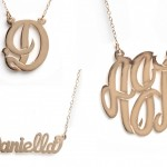Initial Pendant , 8 Charming Initial Nameplate Necklace In Fashion Category
