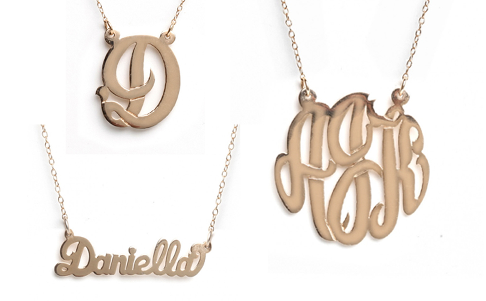 rose gold v baublebox pendant x alexia large necklace initial products