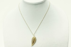 Jewelry , 8 Beautiful Jennifer Meyer Leaf Necklace : Jennifer Meyer Gold Necklace
