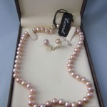 Lovely Pale Pink Cultured Pearls , 8 Lovely Lucoral Pearl Necklace In Jewelry Category
