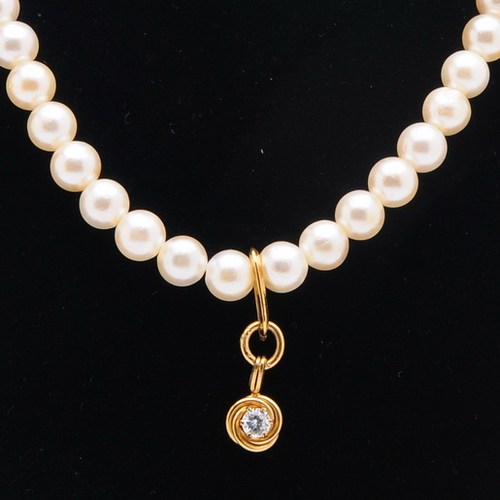 8 Lovely Lucoral Pearl Necklace in Jewelry