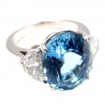 Moon Diamond Platinum Ring , 8 Charming Tiffany Aquamarine Necklace In Jewelry Category