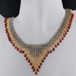 NECKLACE PATTERNS , 9 Charming Chainmail Necklace Patterns In Jewelry Category