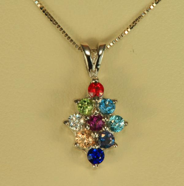 Jewelry , 8 Amazing Mothers Birthstone Necklaces : Natural Birthstones