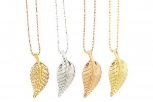 Jewelry , 8 Beautiful Jennifer Meyer Leaf Necklace : Necklaces from Jennifer Meyer