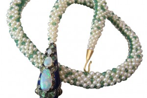 Jewelry , 7 Good Emerald Necklace Marina : Pearl Necklace