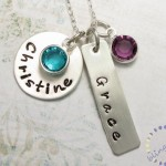 Personalized Jewelry , 9 Unique Personalized Charm Necklaces For Moms In Jewelry Category