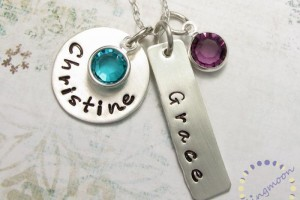 700x549px 9 Unique Personalized Charm Necklaces For Moms Picture in Jewelry