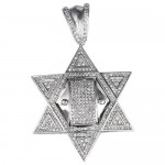 Silver Jewish Star Pendant , 8 Charming Mens Jewish Star Necklace In Jewelry Category