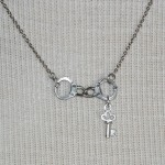 Silver Handcuffs , 7 Cool Handcuff Key Necklace In Jewelry Category
