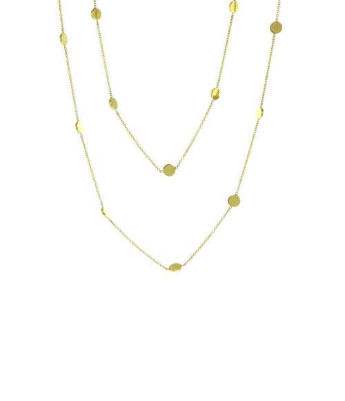 7 Good Jennifer Meyer Circle Necklace in Jewelry